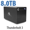 ThunderBay 4 mini TB3 SoftRAID XT 8TB HDD