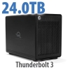 ThunderBay 4 TB3 SoftRAID XT 24TB
