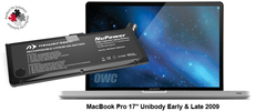"Battery MacBook Pro 17"" Unibody Early 2009 till Mid 2010 + Tools"